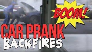 Car Prank Backfires!
