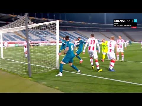 CRVENA ZVEZDA - MILAN, VAR 2 intervencija, poništen gol zbog ruke - Arena Sport TV