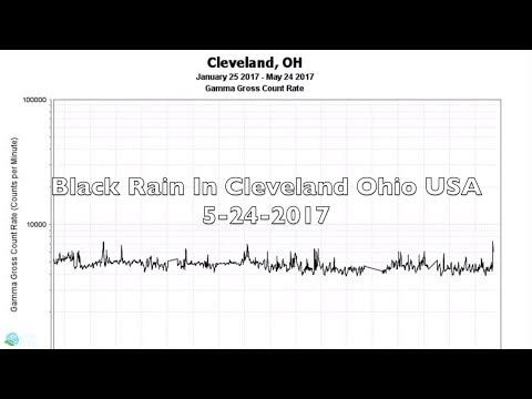 Black Rain In Cleveland Ohio USA 5-24-2017 | Organic Slant