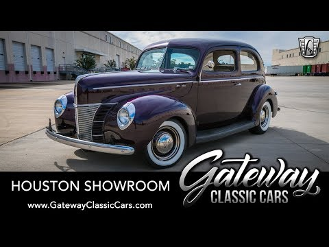1940 Ford Sedan Deluxe, Gateway Classic Cars   #1649 Houston Showroom
