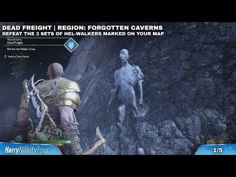 God of War - All Wayward Spirit Locations & Favors (Unfinished Business Trophy Guide)