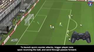 PES Passing - Triggering Player Runs