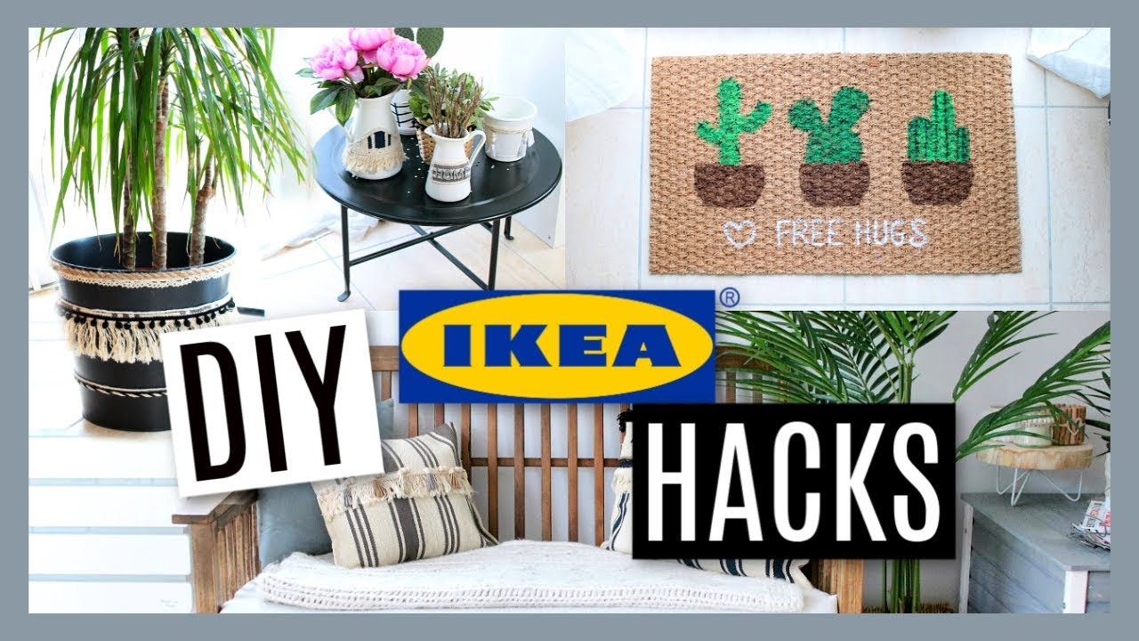 diy ikea hacks deco tendance pas ch re fran ais youtube. Black Bedroom Furniture Sets. Home Design Ideas
