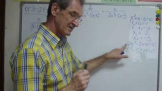 ОГЭ 21 задание  Решить дробно рациональное  уравнение 2