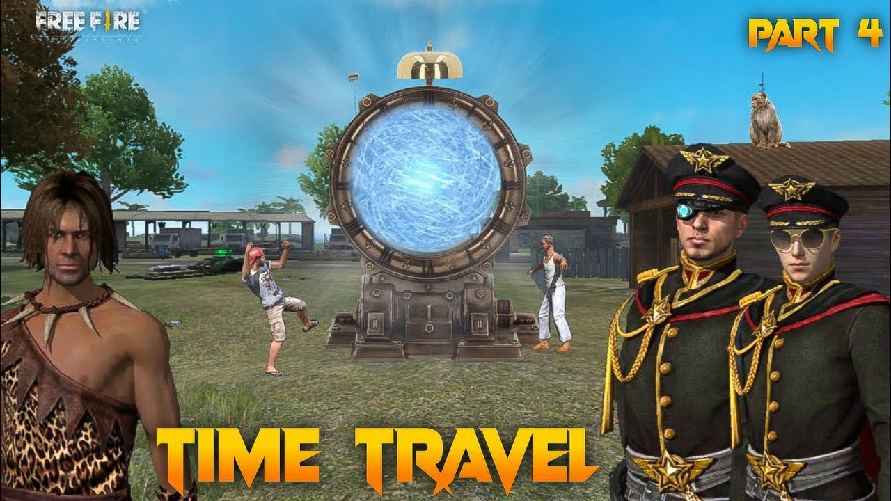 Time Travel Part 4 [ समय यात्रा ] Free fire short Adventure Story in Hindi || Free fire Story