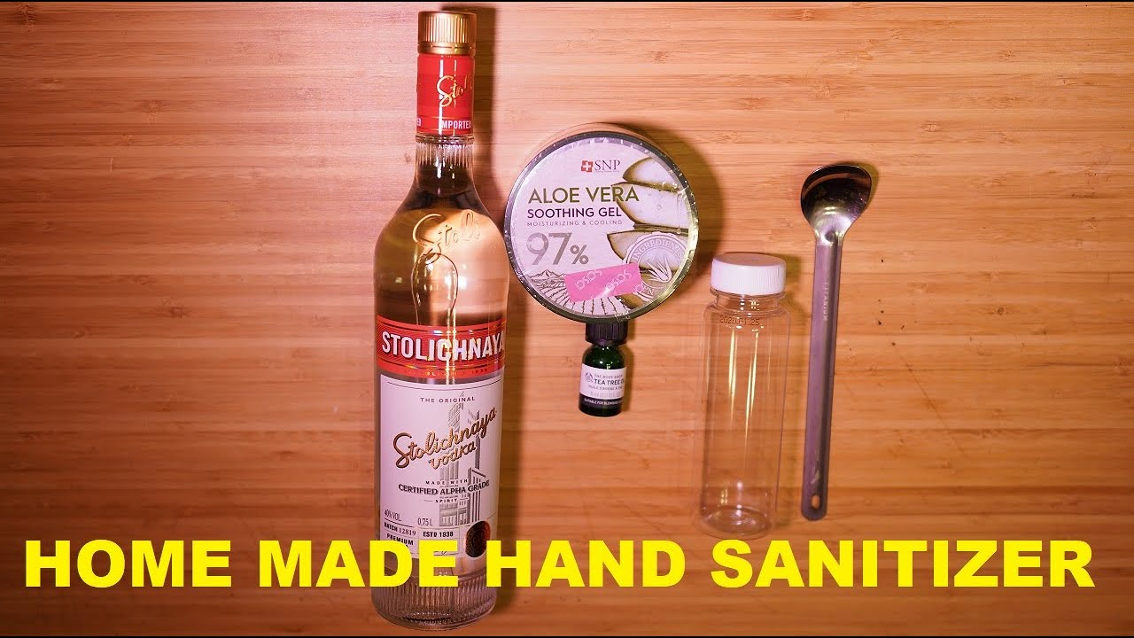 Whiskey Producers Are Making Hand Sanitizer. Here's How They ...