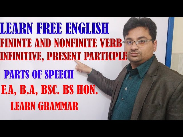 FINITE AND NONFINITE VERBS IN URDU/HINDI