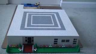Custom Build- LEGO Modern Beachside Condo