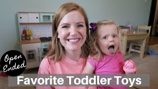 5 Toys My Toddler Actually Plays With
