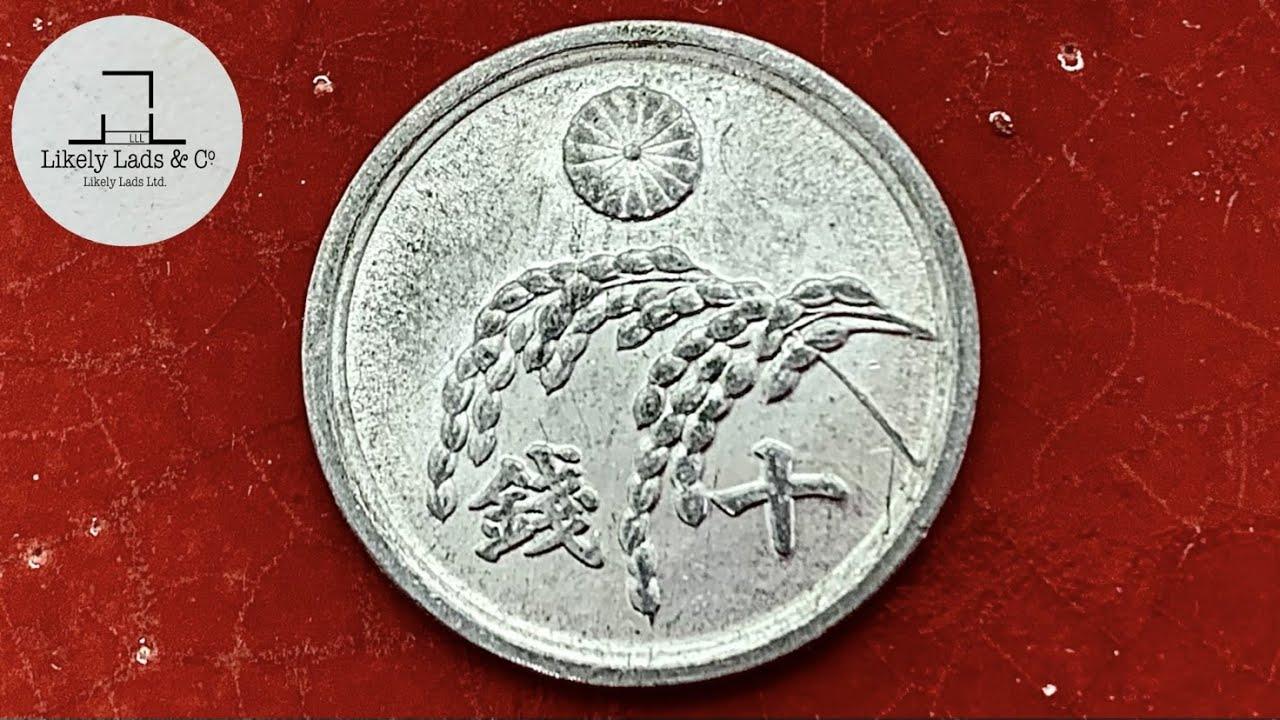 【コイン磨き】アルミとブルーマジック、ピカールの相性は抜群です 10銭 鏡面仕上げ Restoration old coin time lapse ASMR