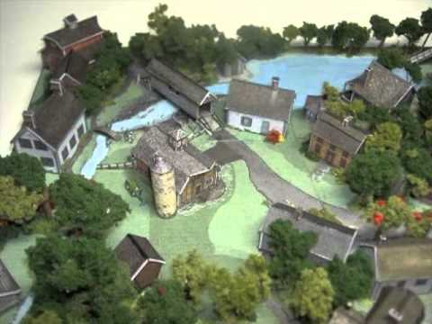 New England Village Downloadable Card Model