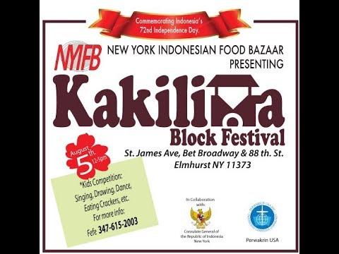 Kaki Lima Block Festival NYC 2017