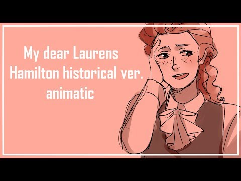 LAMSMy dear Laurens  Hamilton historical ver ANMATIC +COMMISSIONS INFO