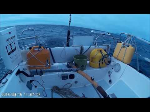 SF to LA Delivery demonstration of Pelagic Autopilot in NW Pacfic