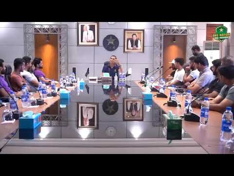 Younis Khan Motivational Talk at NHPC