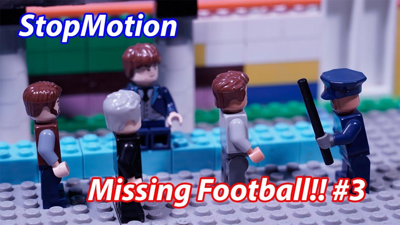 Lego Stop motion : Missing Football Because Coronavirus [ Brick build HD ]