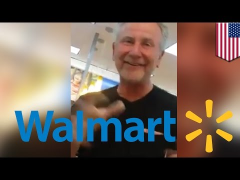 Walmart people: man berates Hispanic worker about immigrants, says go fix own country - TomoNews