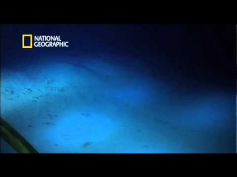 James Cameron at the bottom of the Mariana Trench