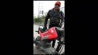 Honda Navi Tha Fire Rider A S Khan