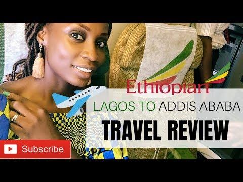 ETHIOPIAN AIRLINES REVIEW -  Lagos TO KENYA | Sassy Funke