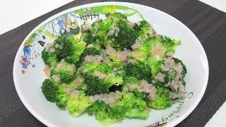 Steamed Broccoli with Lemon Butter Sauce (for Atkins Diet Phase 1) | Dietplan-101.com