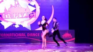 ABDA DANCERS - MELISA & CEM 2016 TÜRKİYE SALSA ŞAMPİYONLARI IIDF SHOW
