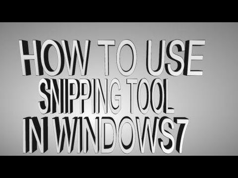 microsoft snipping tool windows 8