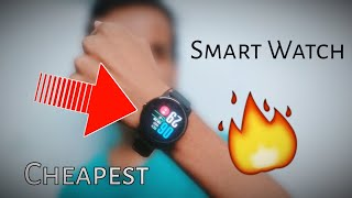 Banggood | cheapest Bakeey S08 Smartwatch | smart watch 2019 | Best Budget Watch For iOS and Android