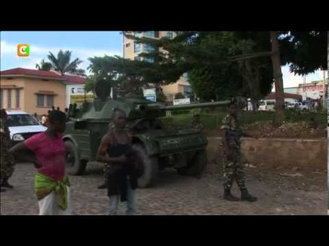 Heavy Gunfire in Burundi's Capital as Attempted Coup 'Aborts'