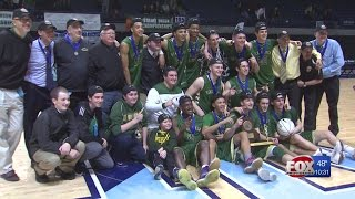 Hendricken claims title with 62-57 win over La Salle
