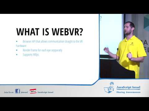 Introduction to WebVR (Hebrew)