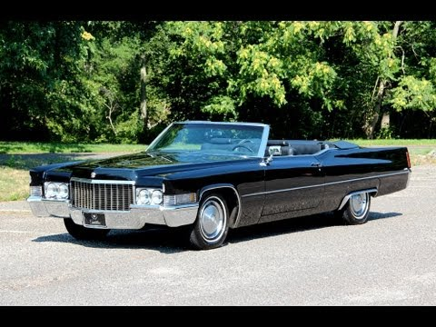 1970 Cadillac DeVille Convertible - Future Clics - YouTube