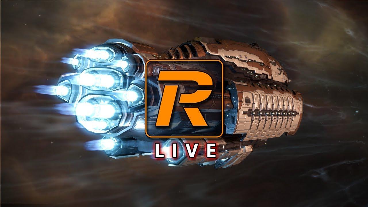 EVE Online Level 4 Missions in Abadon Battleship | LIVE - Reload