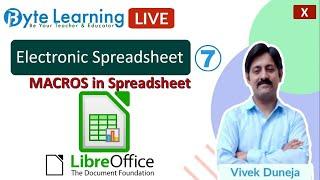 Electronic Spreadsheet   Class…