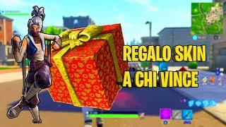 🔴SERVER PRIVATI! REGALO SKIN A CHI VINCE! | Fortnite Battle Royale | Zerbiian