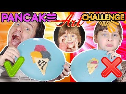 PANCAKE ART CHALLENGE • OMG !! :) - Studio Bubble Tea