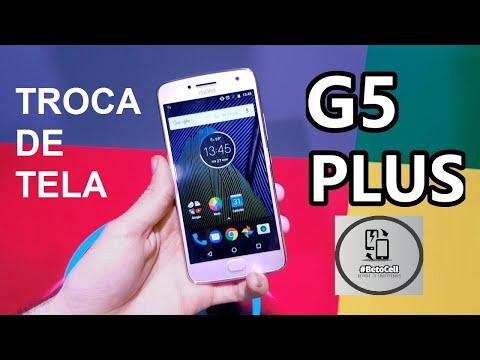 TROCA DA FRONTAL - MOTO G5 PLUS TV (XT1683)