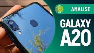 Galaxy A20 corrige erros do A10, mas... | Análise / Review
