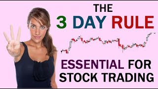 The 3-Day Rule: Essential for Stock Trading. // 3 day rule buying stocks
