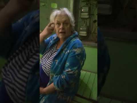 Женщина словила белочку, выключила свет, типо подложили бомбу, смотреть всем ржака