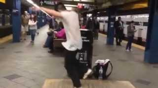 Tap Dance InThe Subway
