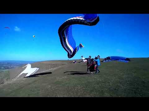 Paragliding Compilation
