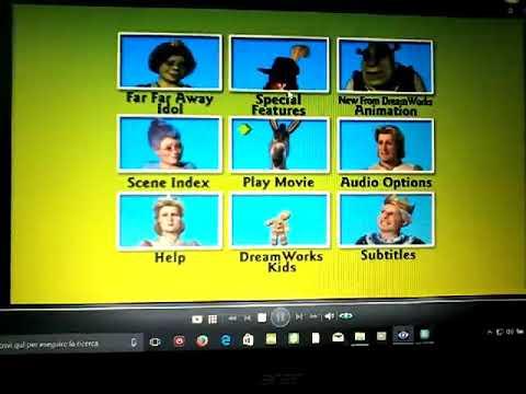 Shrek 2 Dvd Menu Uk Youtube