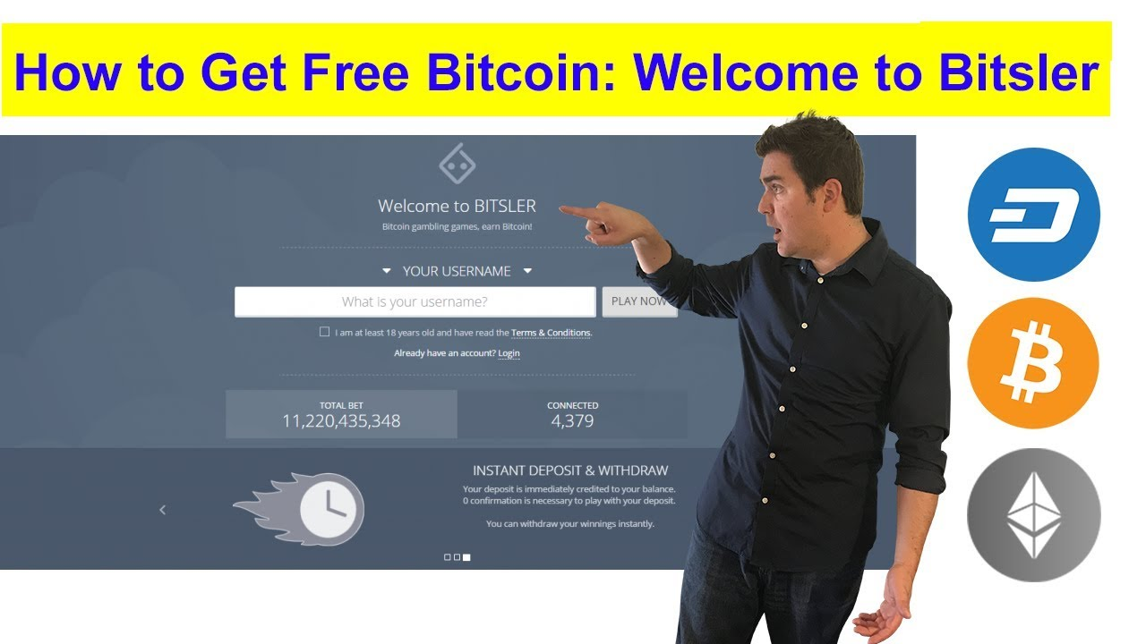How To Get Free Bitcoin Welcome To Bitsler -
