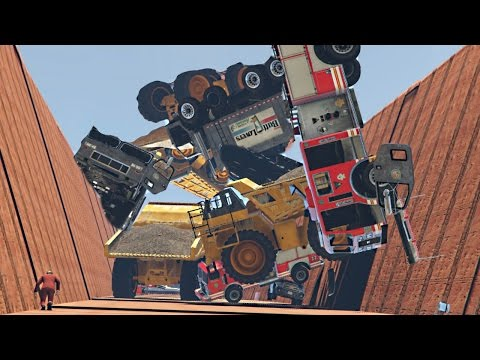 AVALANCHE DEATH FALL! (GTA 5 Funny Moments)