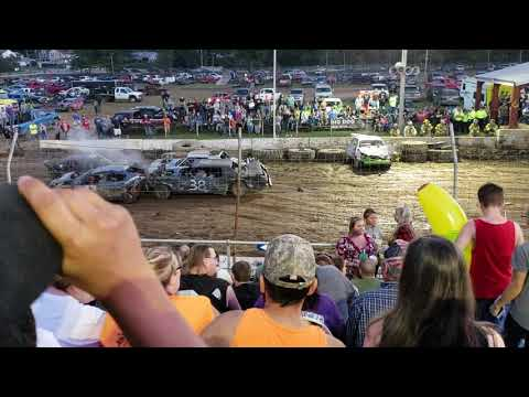 Somerset county fair demolition derby 2018 feature