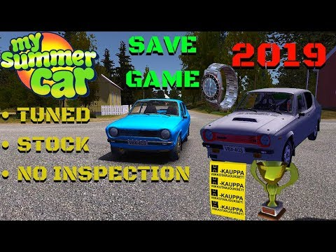 🔴SAVE GAME For BETA And NORMAL VERSION - My Summer Car #156 | Radex