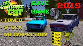 🔴2019 SAVE GAME for BETA and NORMAL VERSION - My Summer Car #156