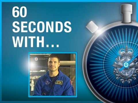 60 Seconds with Lieutenant-Colonel Jeremy Hansen, Canadian Astronaut and RCAF Pilot