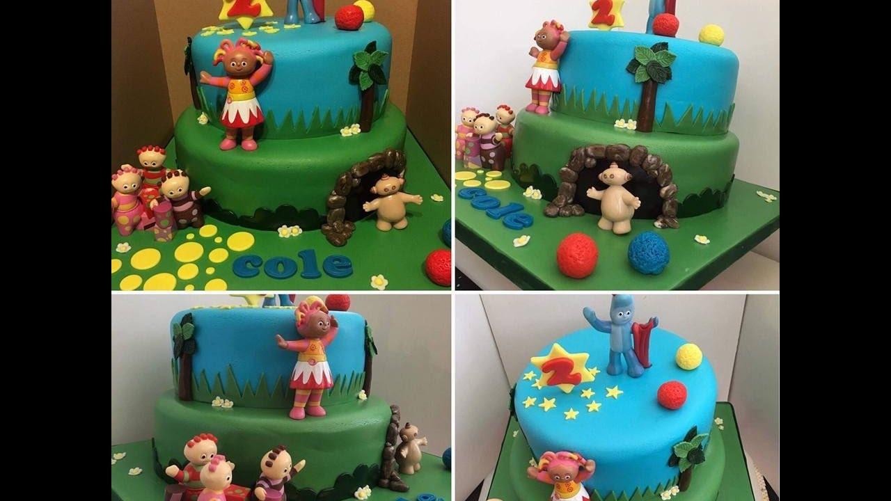 CBeebies IN THE NIGHT GARDEN birthday CAKE - YouTube